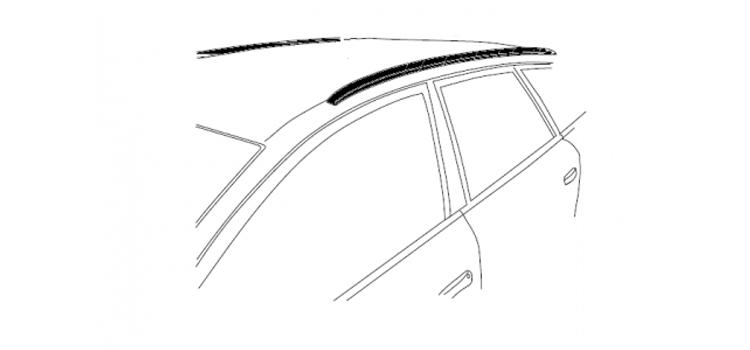 Auto met glad dak