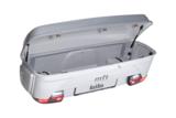 Bagagebox met frame voor trekhaak MFT Euro Select Box 1500 zilver/grijs_15