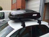 Dakkoffer 340 liter Modula Ciao zwart glans 75 kg laadvermogen_14