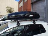 Dakkoffer 430 ltr Modula Ciao Black Gloss 75 kg draagvermogen_15