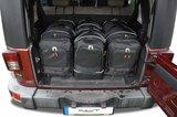 Reistassen kofferbak Jeep Wrangler Unlimited Iii 2007 t/m 2010_
