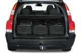 Tassenset Carbags voor Volvo V70 (P26) 2001-2007_