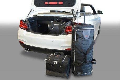 Tassenset Carbags voor BMW 2-serie Cabriolet (F22- F23) Cabrio vanaf 2014