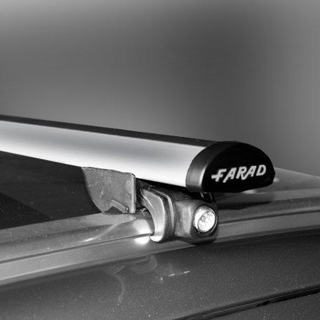 Dakdragers Farad Bmw X3 - F25 5 deurs vanaf 2010 met geintegreerde/gesloten dakrails