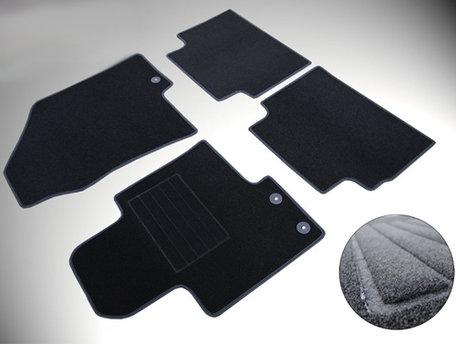 Mattenset op maat complete set voor Volkswagen Golf V 3/5-deurs en station- fix ovaal 11.2003 t/m 10.2008