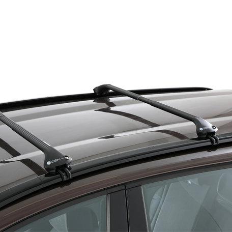 Modula dakdragers Peugeot 4008 5 deurs SUV vanaf 2012 met gesloten dakrail