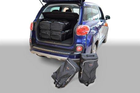 Tassenset Carbags voor Fiat 500L 2012-heden 5 deurs