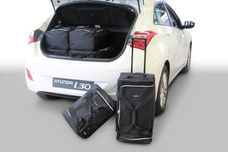 Tassenset Carbags voor Hyundai i30 (GD) 2012-2016 5 deurs