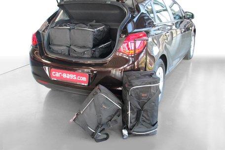 Tassenset Carbags voor Opel Astra J 2009-2015 5 deurs