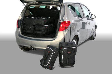 Tassenset Carbags voor Opel Meriva B 2010-2017