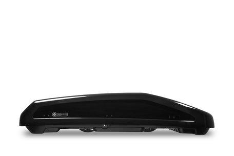 Dakkoffer Modula Evo 470 liter Hoogglans zwart