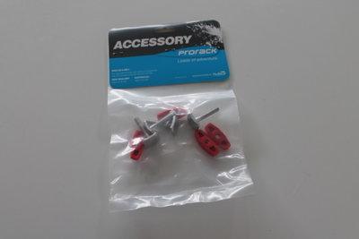 T-Adapter ( set ) Whispbar voor dakkofferbevestiging € 15.95