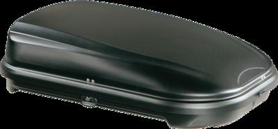 Dakkoffer 320 liter mat zwart PerfectFit Travelbox