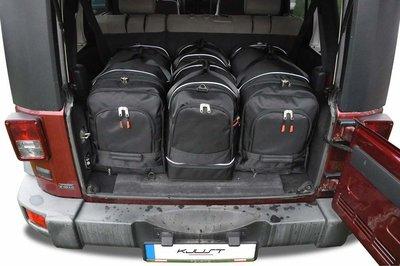 Reistassen kofferbak Jeep Wrangler Unlimited Iii 2007 t/m 2010