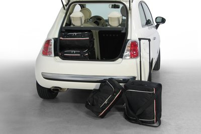 Tassenset Carbags voor Fiat 500 (+ Cabrio) 2007-heden 3 deurs