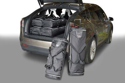 Tassenset Carbags voor Tesla Model X 2015-heden