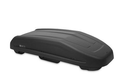 Dakkoffer Modula Evo 550 liter Mat zwartgrijs/anthracite