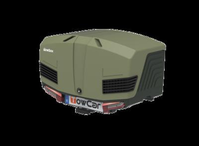 Towbox V3 Camper Grijs Groen 400 liter Nieuwste model