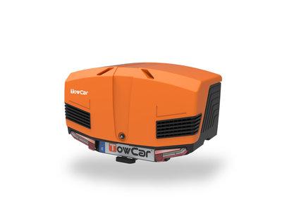 Towbox V3 Sport Zwart Oranje 400 liter Nieuwste model