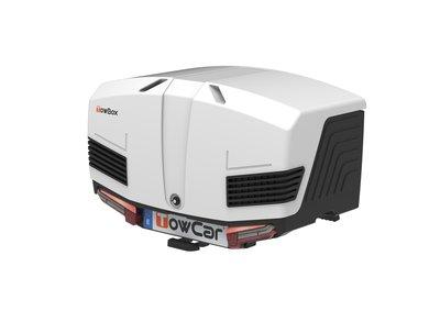 Towbox V3 Artic Zwart Wit 400 liter Nieuwste model
