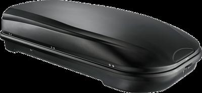 Dakkoffer 580 liter mat zwart Perfectfit Travelbox